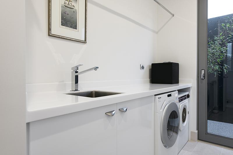 Bathroom renovations perth - Custom Laundry Cabinets Perth Carpentech Cabinets Perth