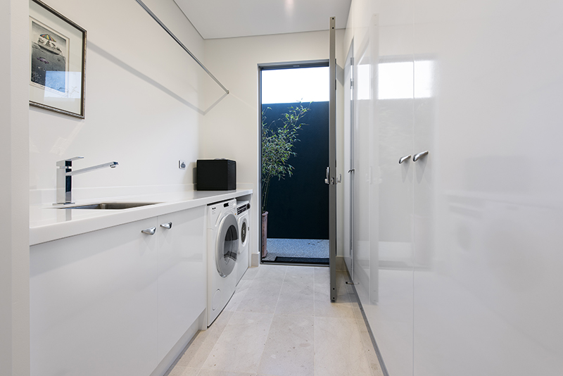 Custom Laundry Cabinets Perth | Carpentech Cabinets Perth
